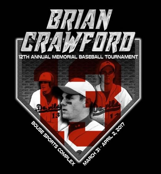 12th Annual Brian Crawford Memorial Tournament Shirt