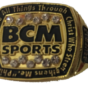 BCM Sports - Phil 4:13 Gold Ring